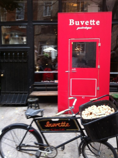 Buvette Exterior Winter