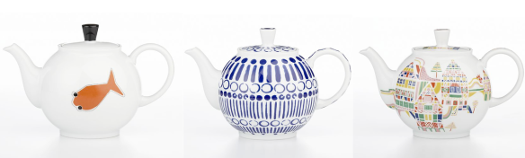 crate & barrel teapots