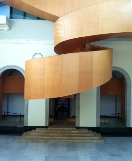 stairs by gehry