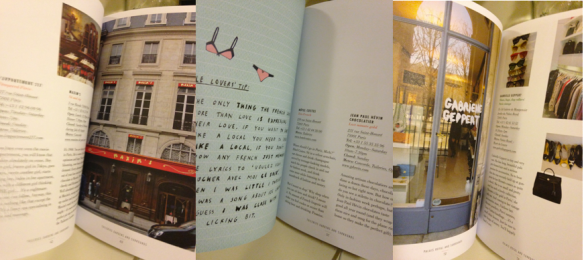 Paris Book Interiors