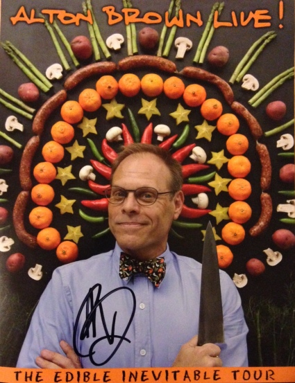 Alton Brown_signed