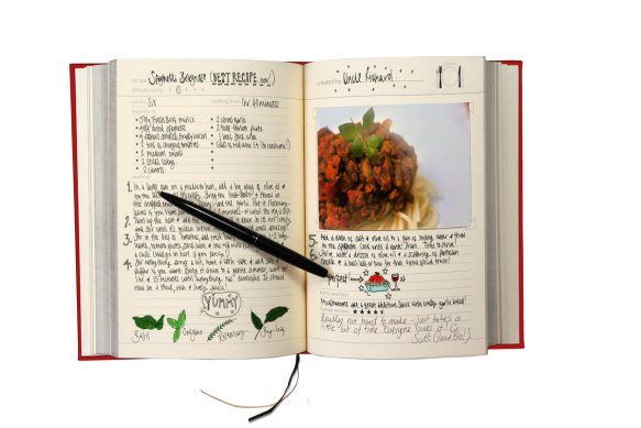 Full Page Cookbook