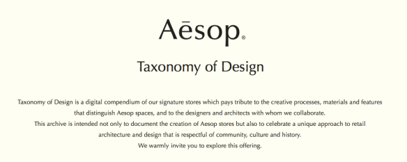 Aesop entry